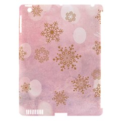 Winter Bokeh Pink Apple iPad 3/4 Hardshell Case (Compatible with Smart Cover)