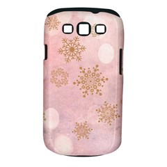 Winter Bokeh Pink Samsung Galaxy S III Classic Hardshell Case (PC+Silicone)
