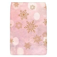 Winter Bokeh Pink Flap Covers (S)
