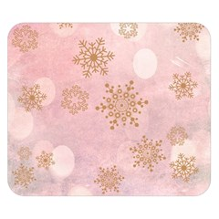 Winter Bokeh Pink Double Sided Flano Blanket (Small)