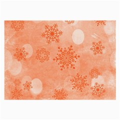Winter Bokeh Red Large Glasses Cloth (2-Side)