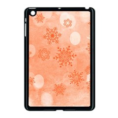 Winter Bokeh Red Apple iPad Mini Case (Black)
