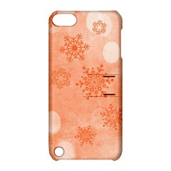 Winter Bokeh Red Apple iPod Touch 5 Hardshell Case with Stand
