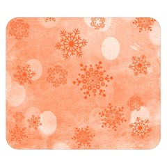 Winter Bokeh Red Double Sided Flano Blanket (Small)