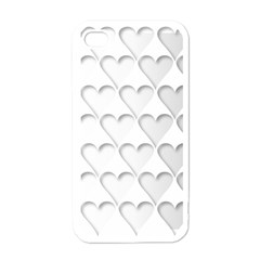 France Hearts Flag Apple iPhone 4 Case (White)