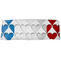 France Hearts Flag Body Pillow Cases (dakimakura)