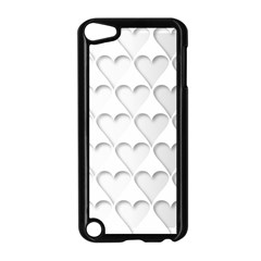 France Hearts Flag Apple iPod Touch 5 Case (Black)