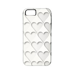 France Hearts Flag Apple iPhone 5 Classic Hardshell Case (PC+Silicone)