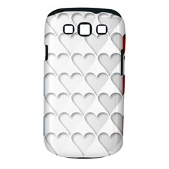 France Hearts Flag Samsung Galaxy S III Classic Hardshell Case (PC+Silicone)