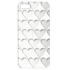 France Hearts Flag Apple iPhone 5 Hardshell Case with Stand