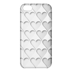 France Hearts Flag Apple iPhone 5C Hardshell Case