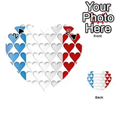 France Hearts Flag Playing Cards 54 (Heart)