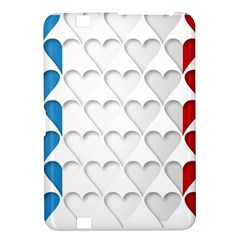 France Hearts Flag Kindle Fire HD 8.9