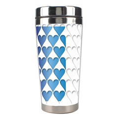 France Hearts Flag Stainless Steel Travel Tumblers