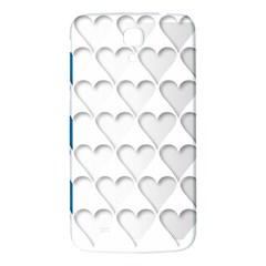 France Hearts Flag Samsung Galaxy Mega I9200 Hardshell Back Case