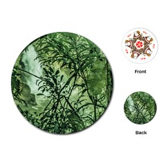 Jungle View At Iguazu National Park Playing Cards (round)