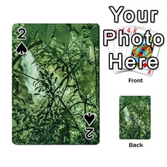 Jungle View at Iguazu National Park Playing Cards 54 Designs