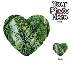 Jungle View at Iguazu National Park Multi-purpose Cards (Heart)