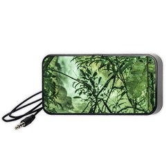 Jungle View At Iguazu National Park Portable Speaker (black)