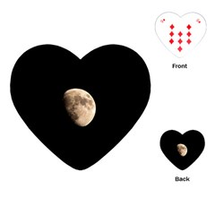 Half Moon Playing Cards (heart)