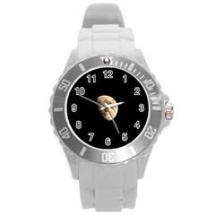 Half Moon Round Plastic Sport Watch (L)