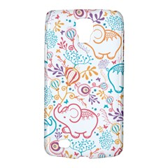 Cute pastel tones elephant pattern Galaxy S4 Active