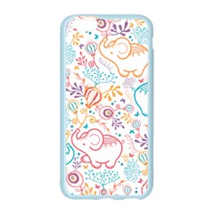 Cute pastel tones elephant pattern Apple Seamless iPhone 6/6S Case (Color)
