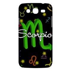 Scorpio Floating Zodiac Name Samsung Galaxy Mega 5.8 I9152 Hardshell Case