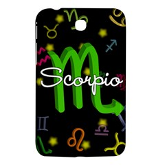 Scorpio Floating Zodiac Name Samsung Galaxy Tab 3 (7 ) P3200 Hardshell Case