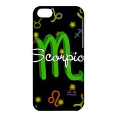 Scorpio Floating Zodiac Name Apple iPhone 5C Hardshell Case