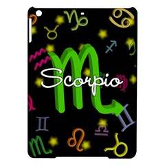 Scorpio Floating Zodiac Name iPad Air Hardshell Cases