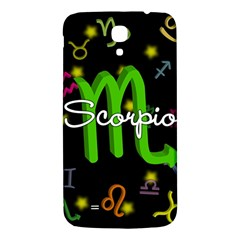Scorpio Floating Zodiac Name Samsung Galaxy Mega I9200 Hardshell Back Case