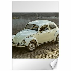 Classic Beetle Car Parked On Street Canvas 20  x 30
