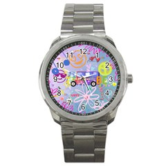 Summer Of Love   The 60s Sport Metal Watches