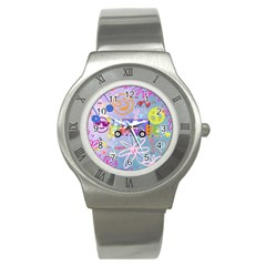 Summer Of Love   The 60s Stainless Steel Watches