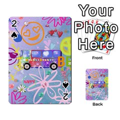 Summer Of Love   The 60s Playing Cards 54 Designs