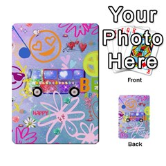 Summer Of Love   The 60s Multi Purpose Cards (rectangle)
