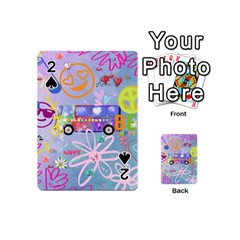 Summer Of Love   The 60s Playing Cards 54 (Mini)