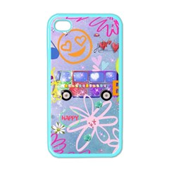 Summer Of Love   The 60s Apple iPhone 4 Case (Color)