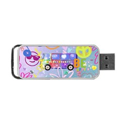 Summer Of Love   The 60s Portable Usb Flash (two Sides)