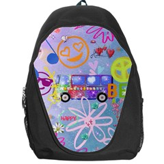 Summer Of Love   The 60s Backpack Bag