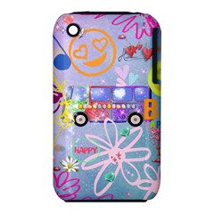 Summer Of Love   The 60s Apple iPhone 3G/3GS Hardshell Case (PC+Silicone)
