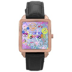 Summer Of Love   The 60s Rose Gold Watches