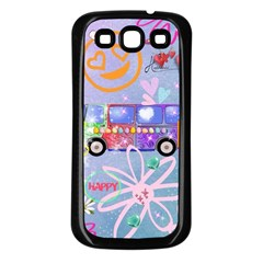 Summer Of Love   The 60s Samsung Galaxy S3 Back Case (Black)