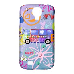 Summer Of Love   The 60s Samsung Galaxy S4 Classic Hardshell Case (PC+Silicone)