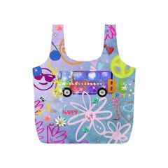 Summer Of Love   The 60s Full Print Recycle Bags (S)