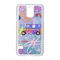 Summer Of Love   The 60s Samsung Galaxy S5 Case (White)