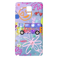 Summer Of Love   The 60s Galaxy Note 4 Back Case
