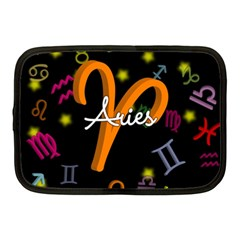 Aries Floating Zodiac Sign Netbook Case (Medium)