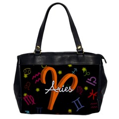 Aries Floating Zodiac Sign Office Handbags